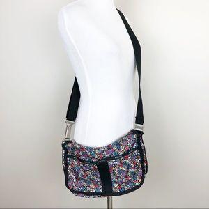 LeSportsac | Essential Hobo Bag Ditsy Floral Print